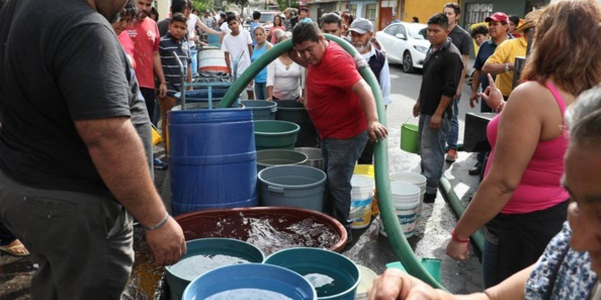 Servicio de agua se restablecerá al 100% en las próximas horas: Sacmex