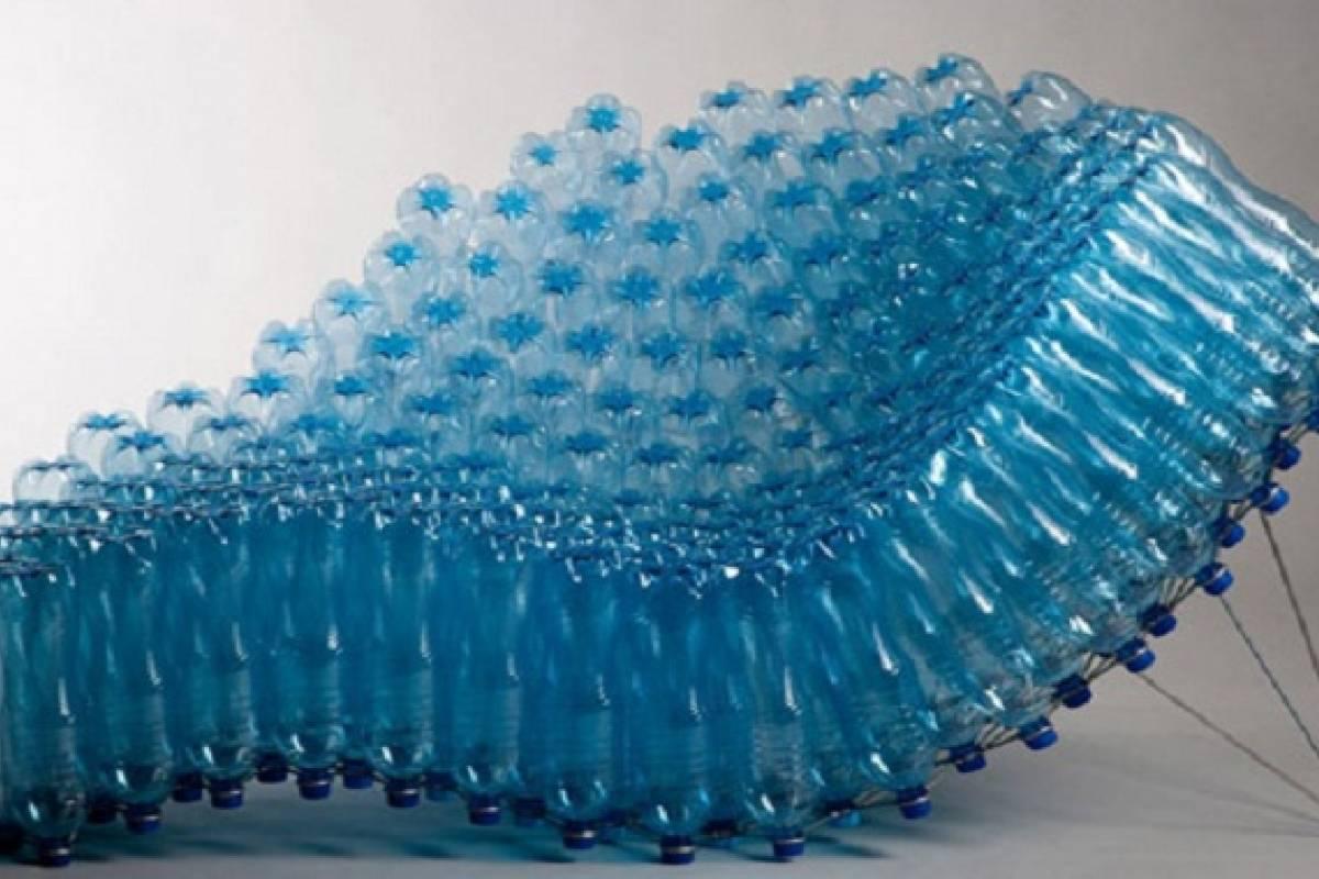 Dise o sustentable con botellas de pl stico veoverde for Diseno sustentable