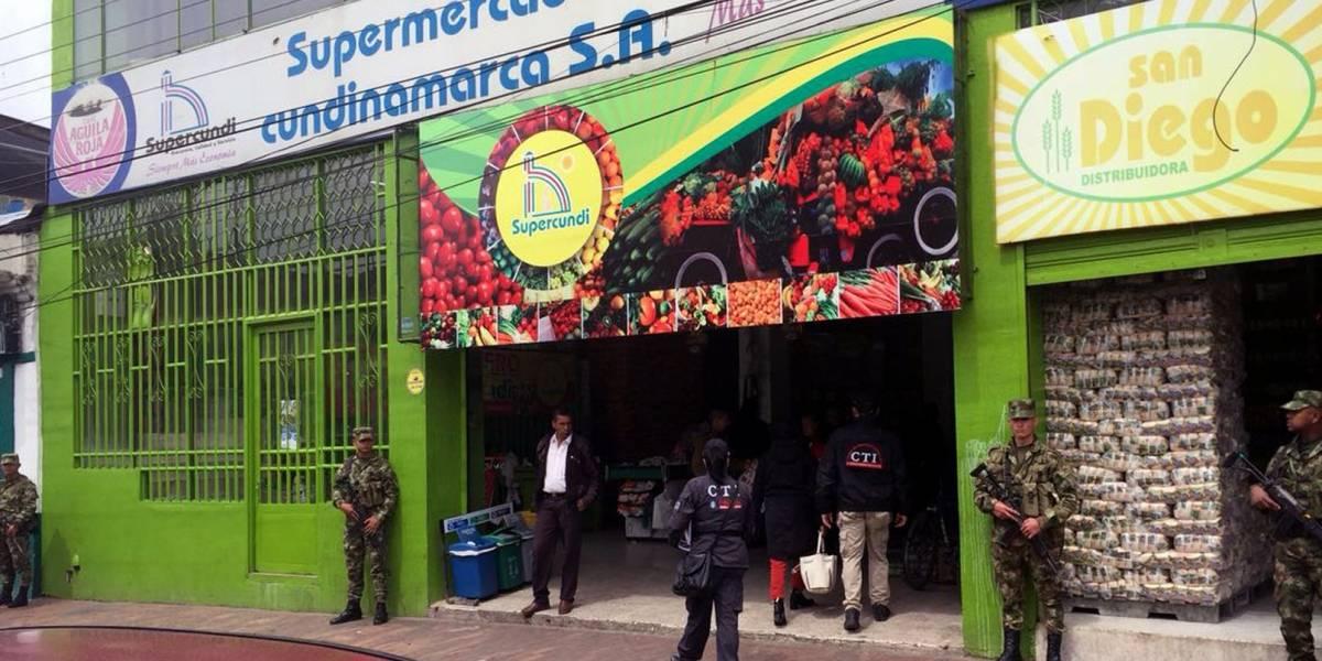 La oscura historia detrás de los supermercados saqueados en Melgar