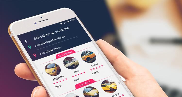 Con app taxistas buscan segundo round contra Uber