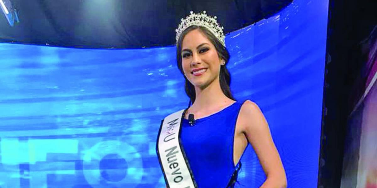 Andrea Merodio: Usará su corona de Mexicana Universal NL para causas sociales