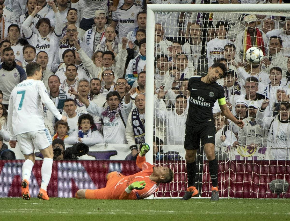 Ronaldo le anotó un doblete al PSG.