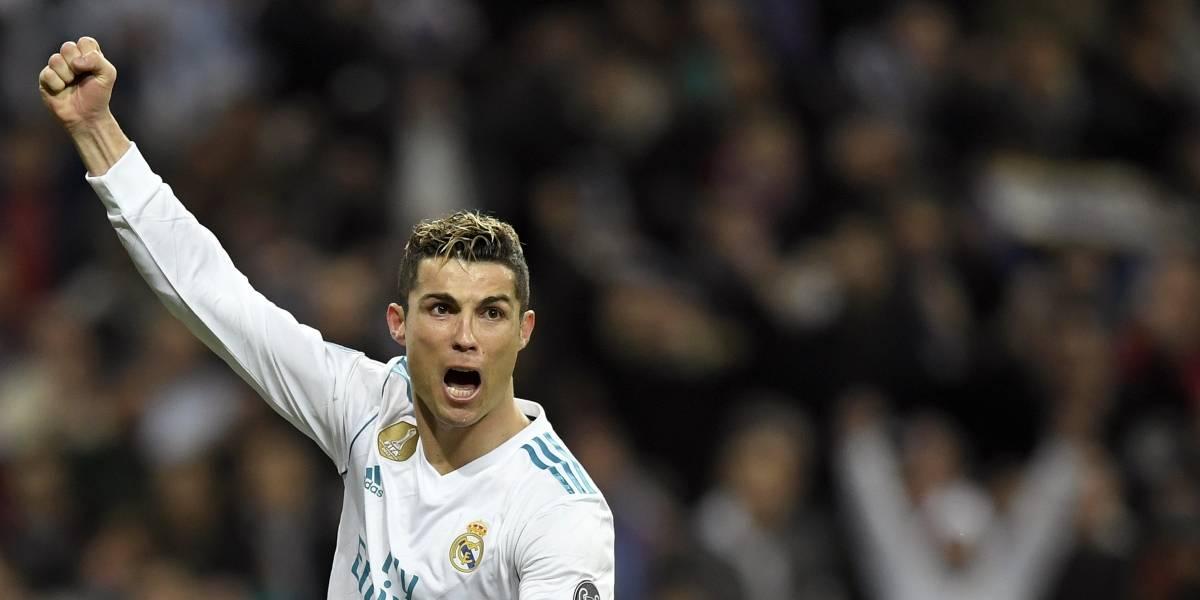 Ronaldo en la cúspide del goleo de la Champions
