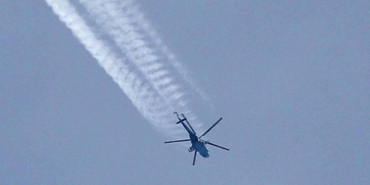 ¡Atención! Helicóptero militar se accidentó tras despegar de Cali