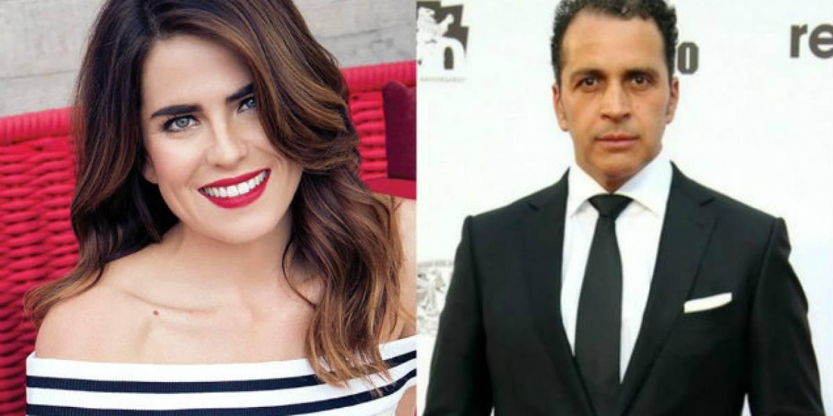 Gustavo Loza tuvo relación amorosa con Karla Souza