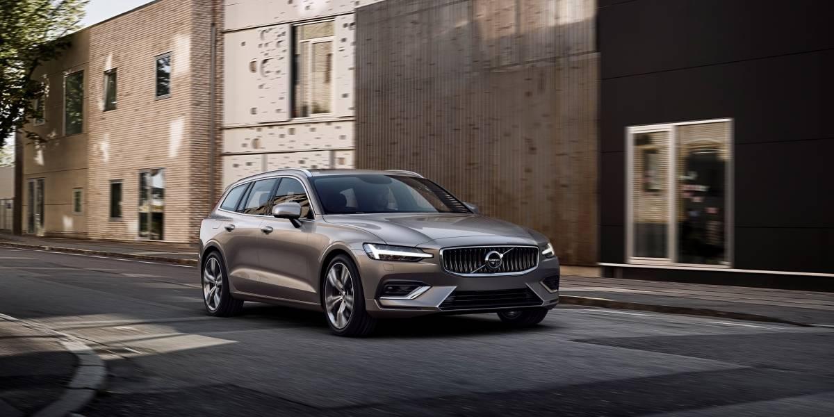 En Suecia, Volvo revela el nuevo V60
