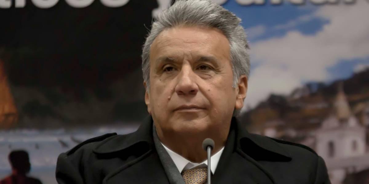 Lenín Moreno se pronuncia sobre supuesto audio de José Serrano