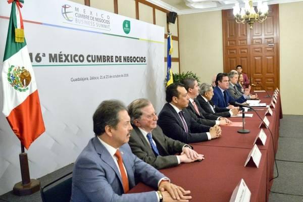Jalisco recibirá de nuevo la México Cumbre de Negocios