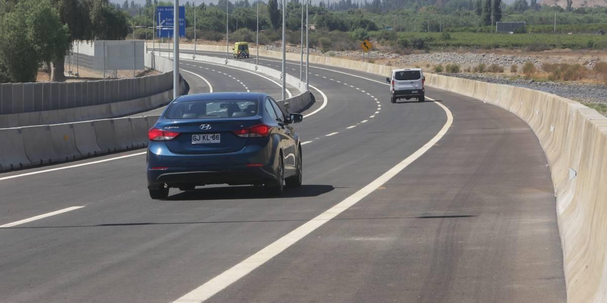 Mendoza y Valparaíso ya están conectados: entregan último tramo de carretera Los Andes