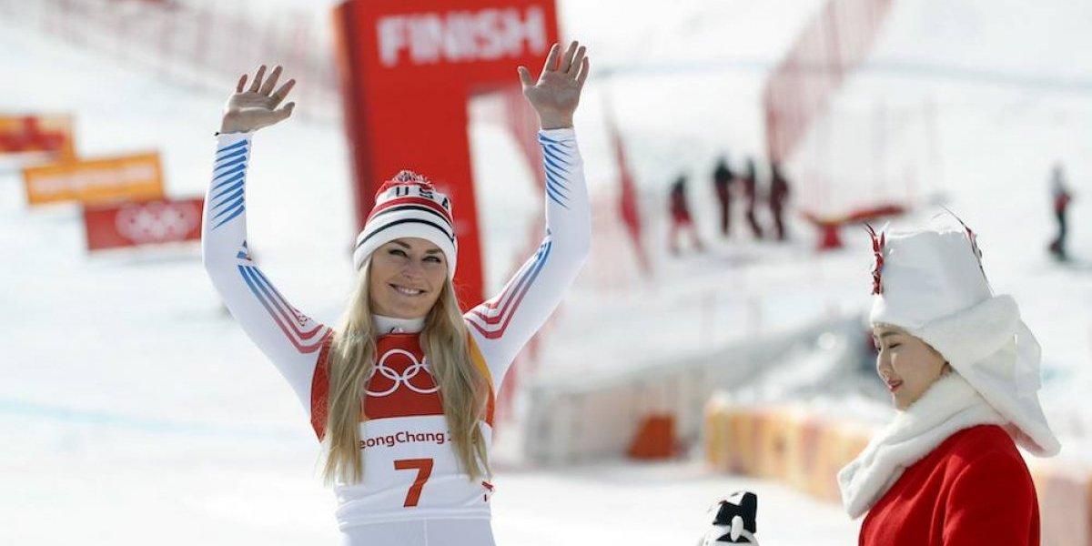 Lindsey Vonn establece récord en su despedida de los Juegos Olímpicos de Invierno
