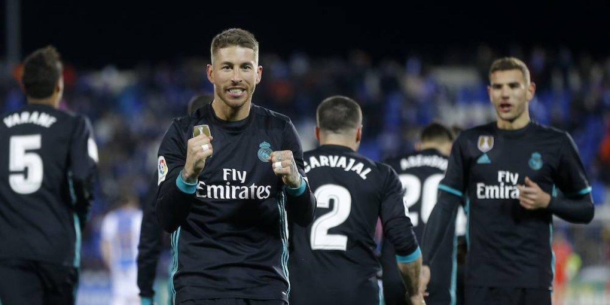 Real Madrid asciende a la tercera posición en la Liga española