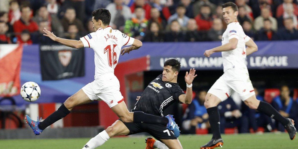 Así vivimos el deslucido partido del United y Alexis en la Champions