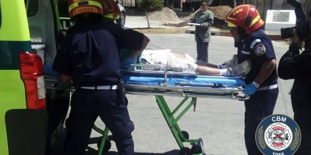 Tras persecución, capturan a presunto responsable de ataque armado en Villa Nueva