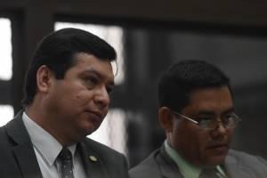 audiencia donde defensa de Erick Melgar Padilla pide revocar orden de captura