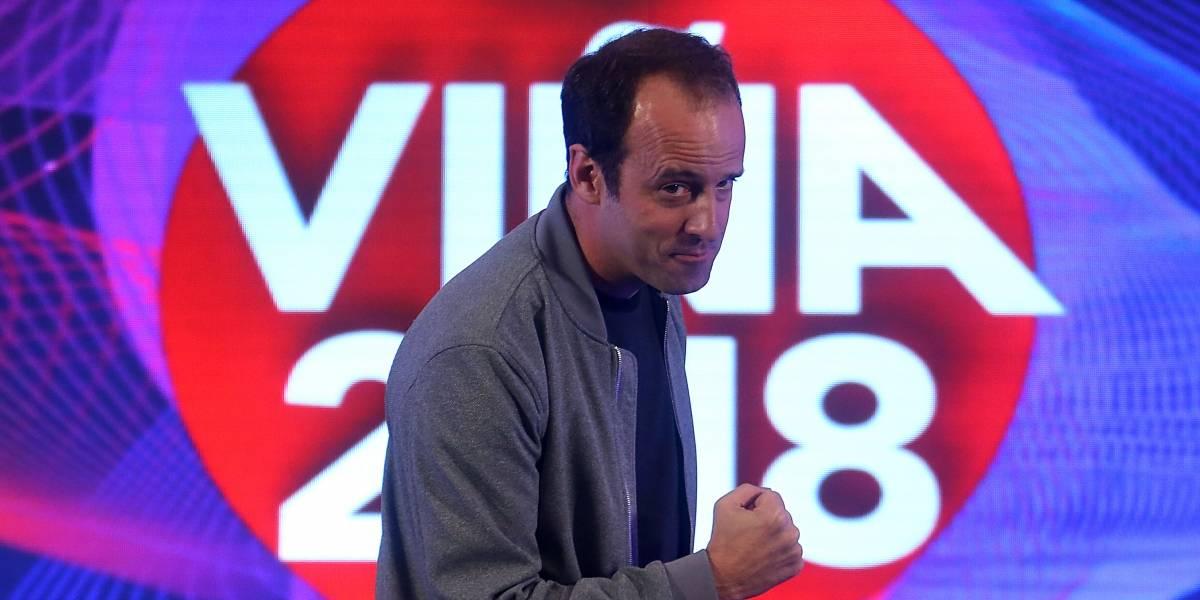 """Viña 2018: Stefan Kramer se niega a la caracterización: """"Me gusta la cara limpia"""""""