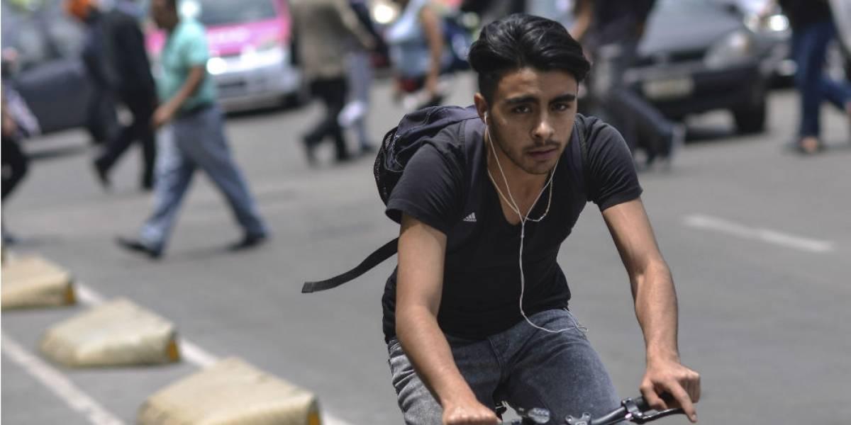 Viajan más en bici que en taxi por app en la CDMX