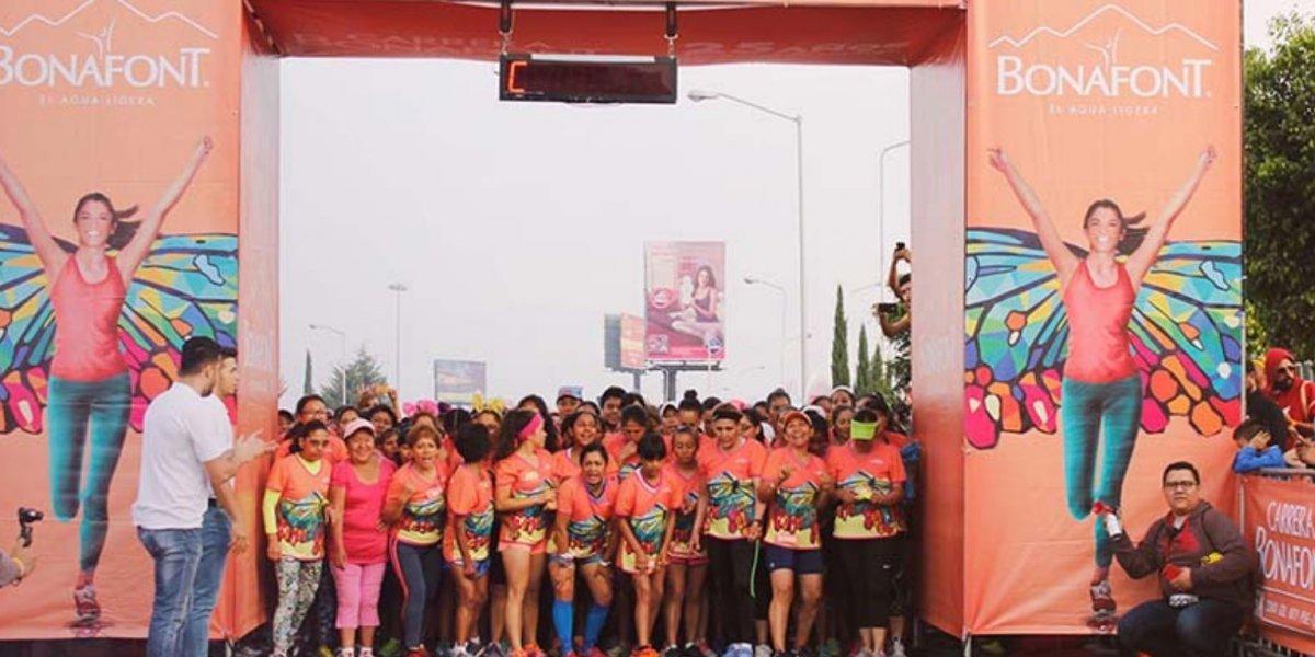 Publisport te invita a la Carrera Bonafont en la CDMX, Guadalajara y Monterrey