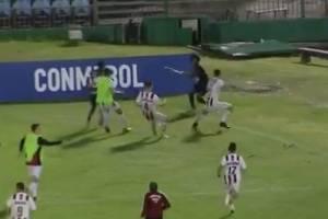 Pelea tras victoria de Independiente del Valle sub 20 en Copa Libertadores