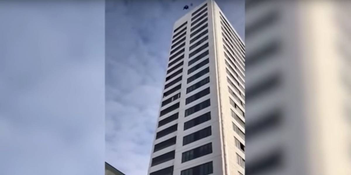 Hombre sobrevivió a caída desde un edificio de 24 pisos en Suecia