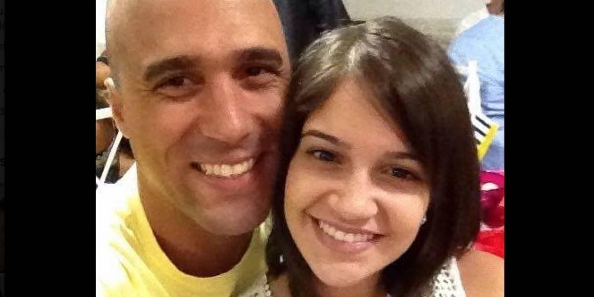 Viúva de sargento morto em arrastão no Rio faz homenagem emocionante