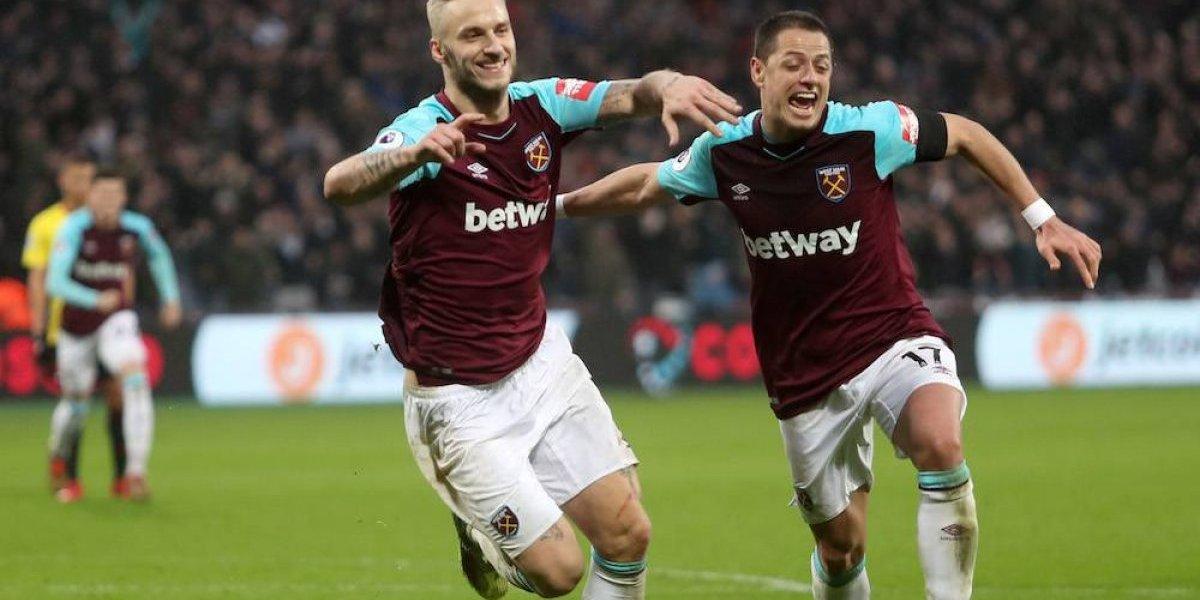 'Chicharito' Hernández recuperó la sonrisa con el West Ham