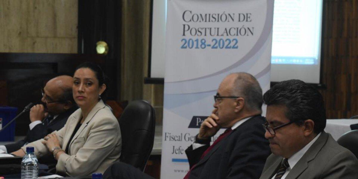 Postuladora a fiscal general oficializa listado de aspirantes excluidos del proceso
