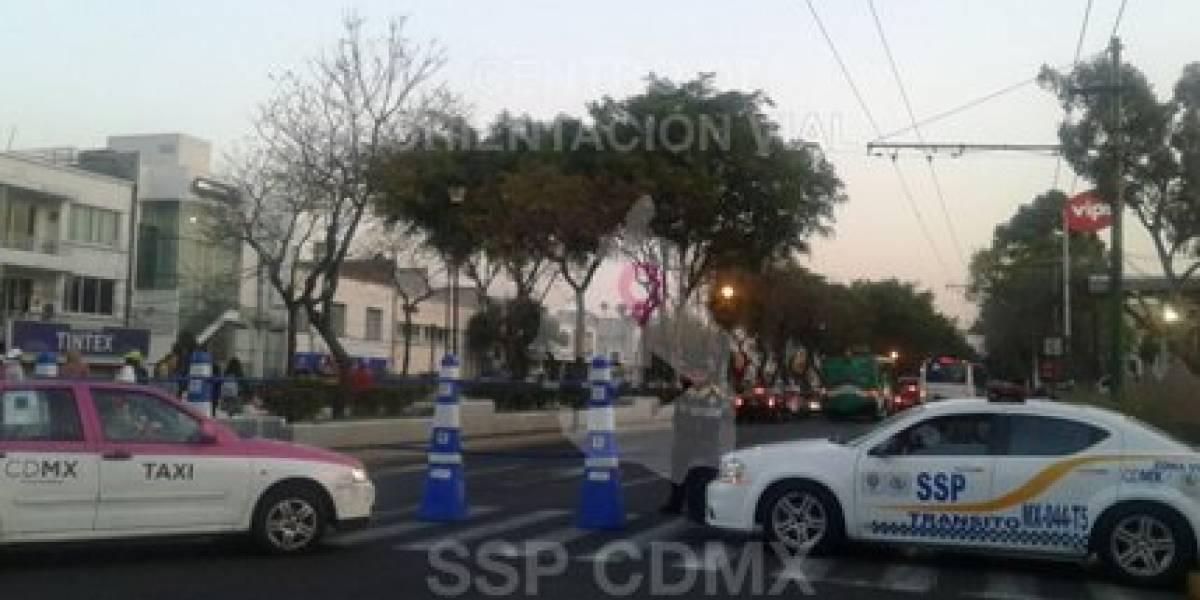 Marchas y peregrinaciones provocarán cierre de vialidades en la CDMX
