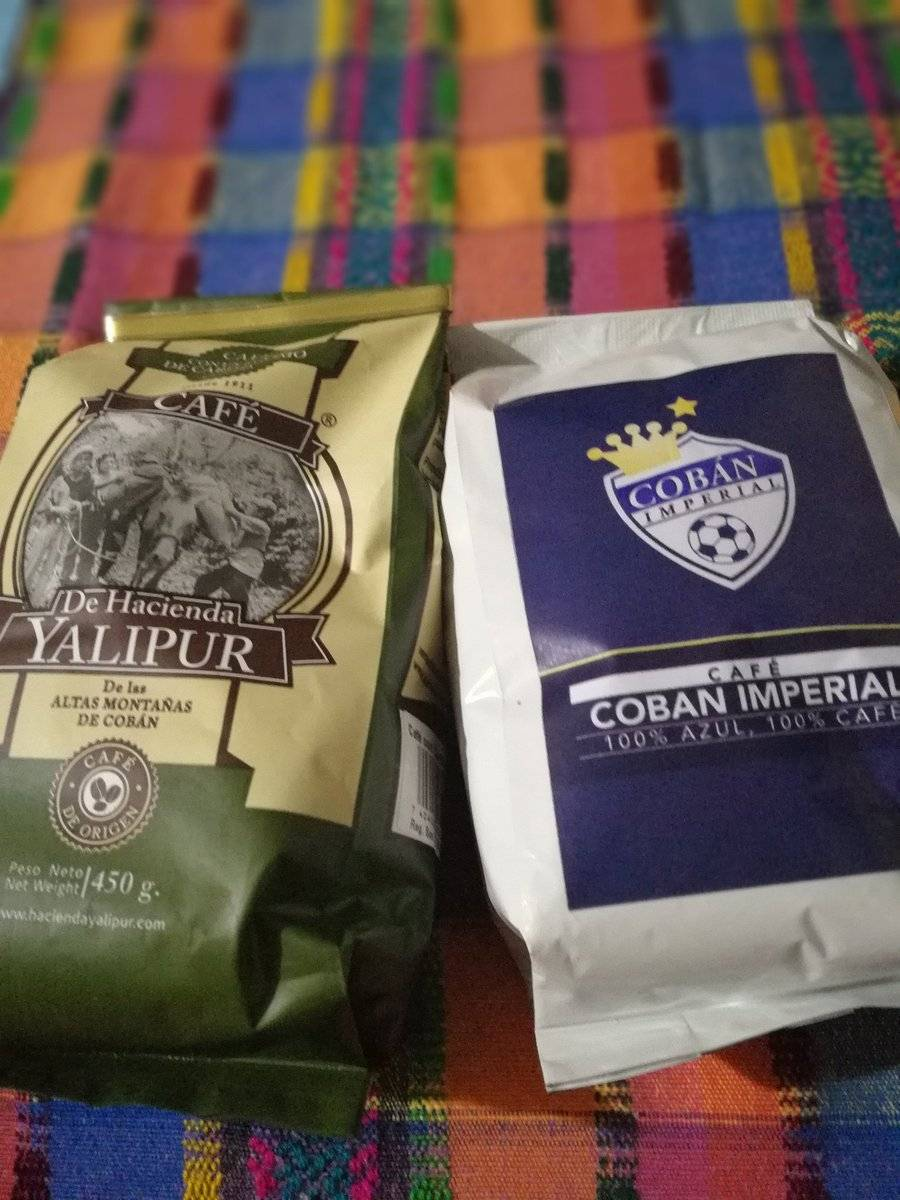 Esta es la presentación de café de los cobaneros.