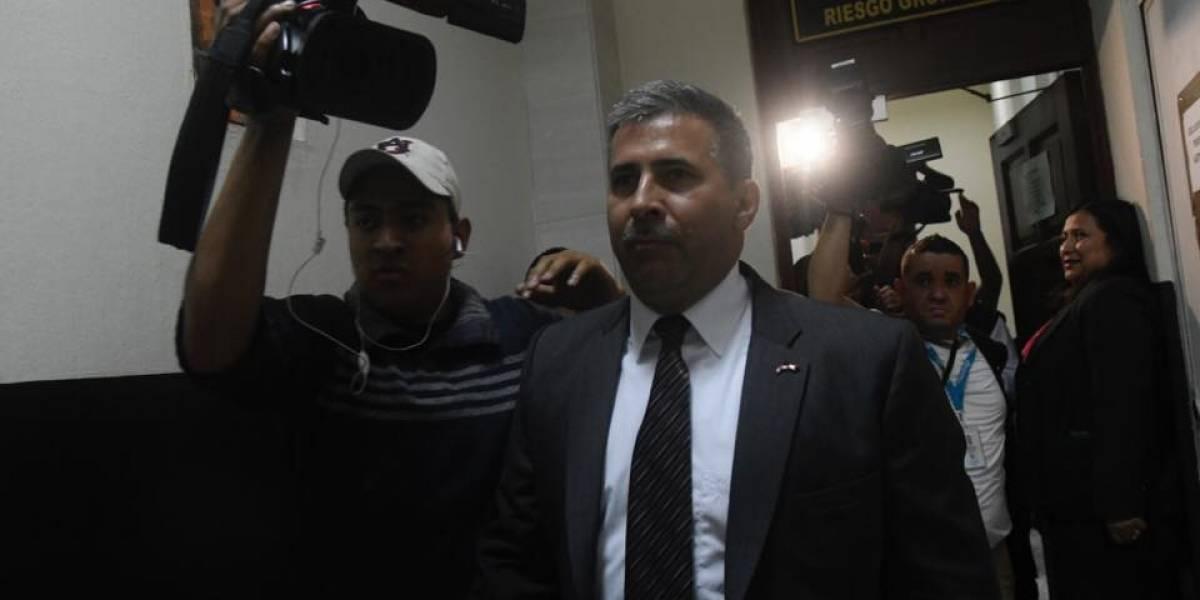 Melgar Padilla hace responsable de su vida a Aldana, Velásquez y Sandoval