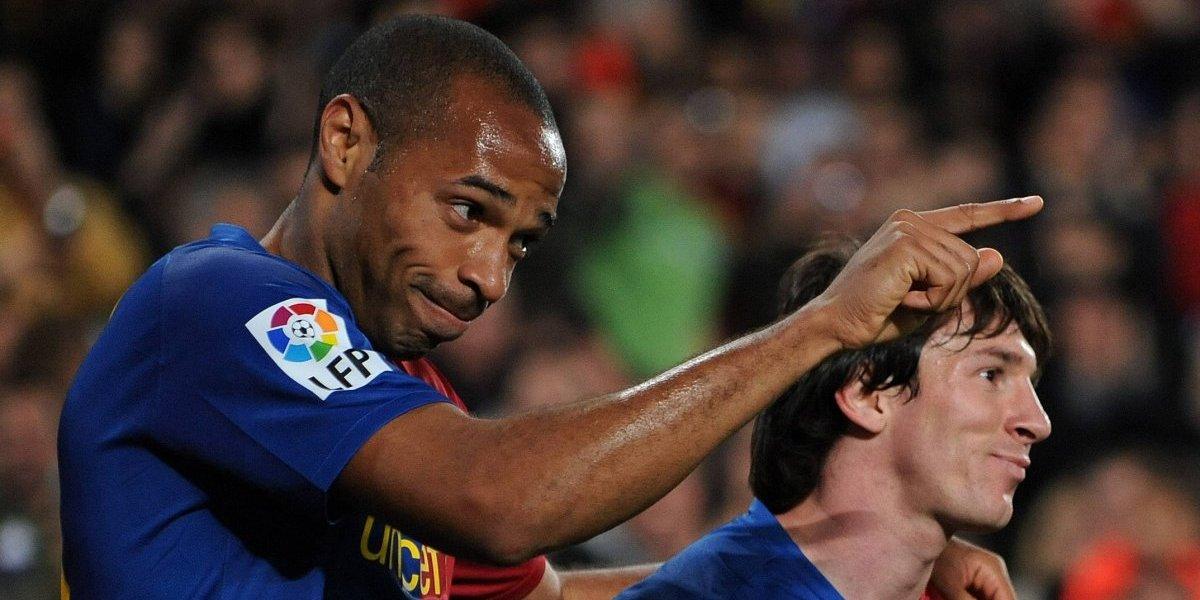 """Henry la tiene clara: """"Si Neymar no quiere quedar a la sombra de Messi debe cambiar de deporte"""""""