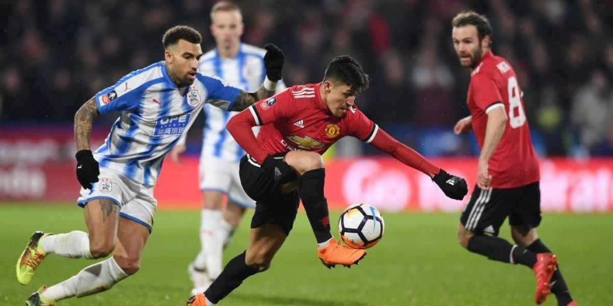 Con Alexis en ataque: el once del Manchester United para enfrentar al Sevilla por la Champions