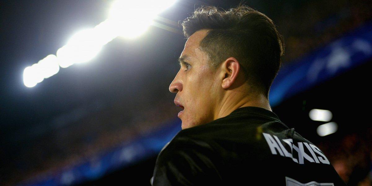 Alexis se encandiló en su retorno a la Champions con un United que la sacó barata en Sevilla