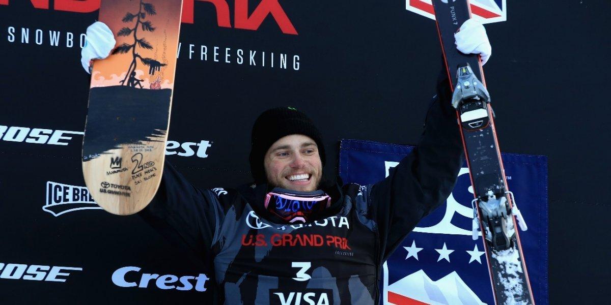 FOTO. Esquiador fue captado en momento íntimo con su novio en los Juegos de Invierno