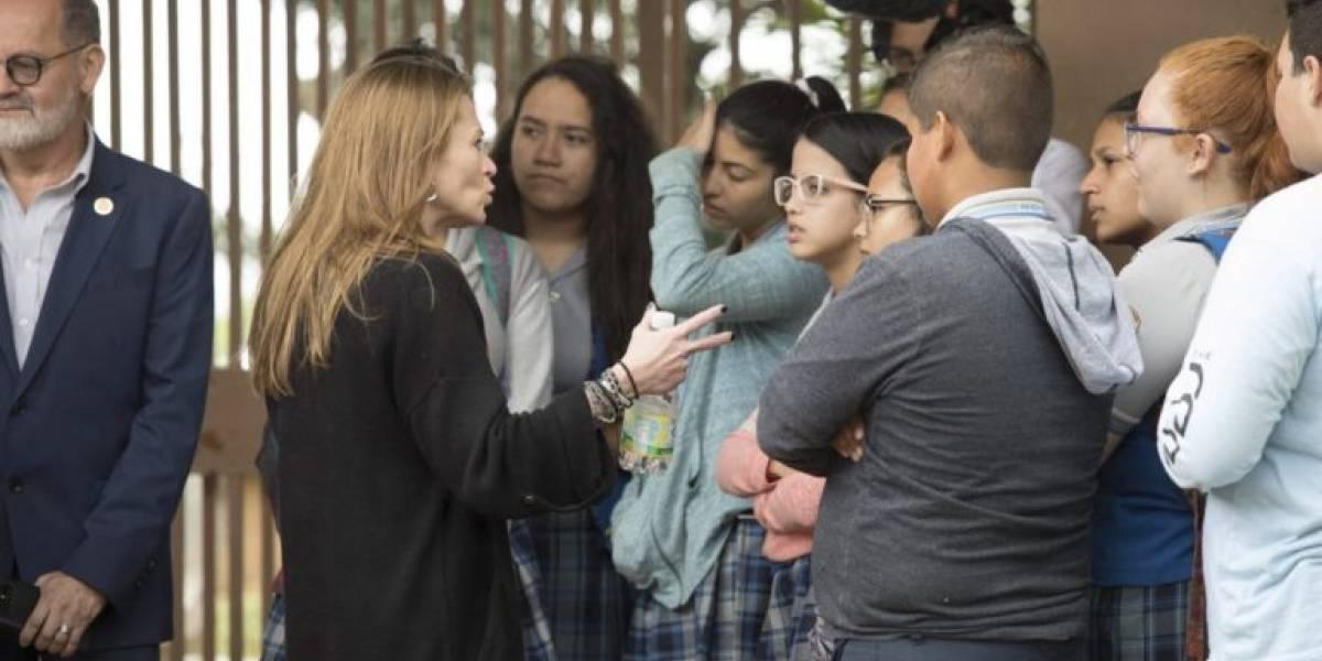 Keleher vende en la Isla su idea de escuelas charter y vales educativos