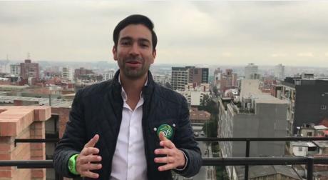 Este candidato será el primero en el país en pagar su campaña con bitcóin