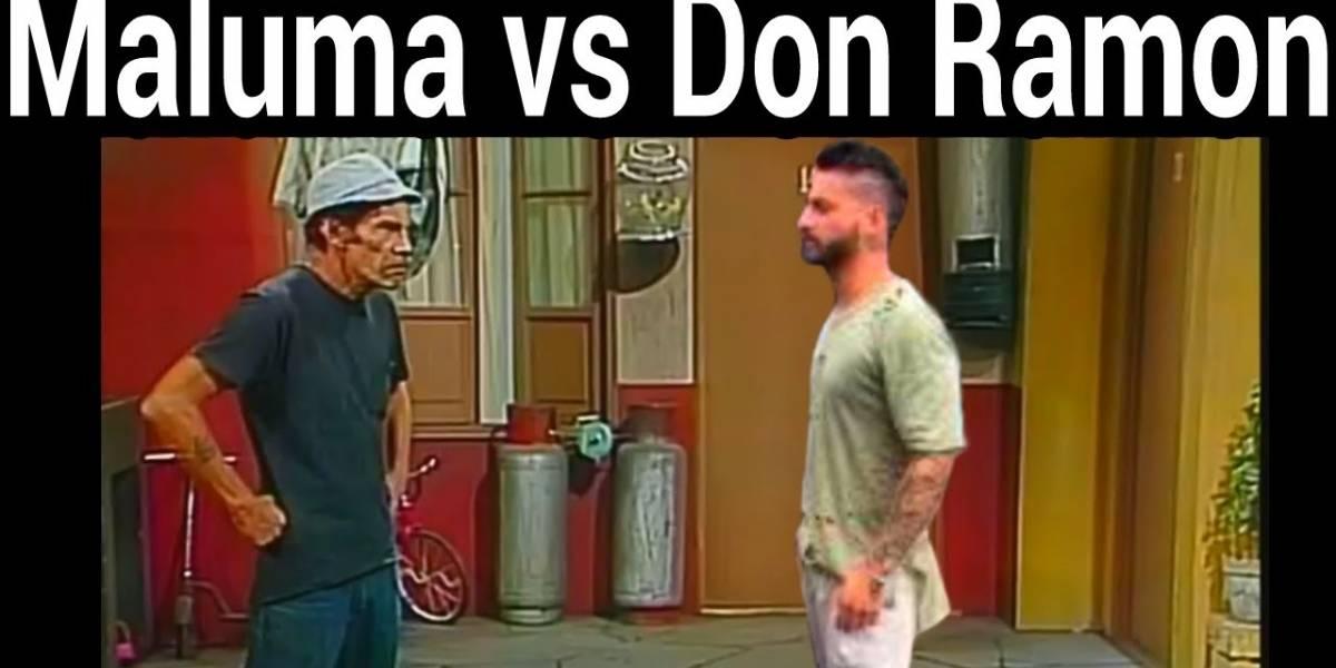 Viral: Cómo reaccionaría Don Ramón al oír a Maluma