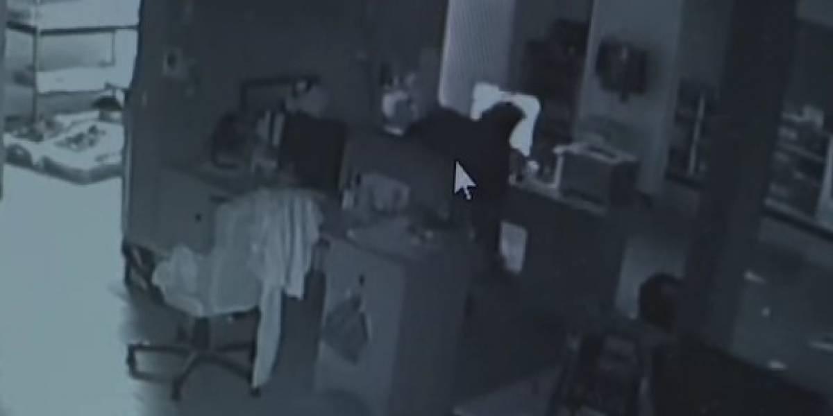 Entró a robar y lo pillaron porque en vez de arrancar con el botín se quedó viendo porno en un computador