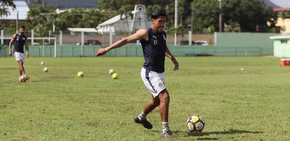 Fotogalería: Chivas tuvo un difícil entrenamiento