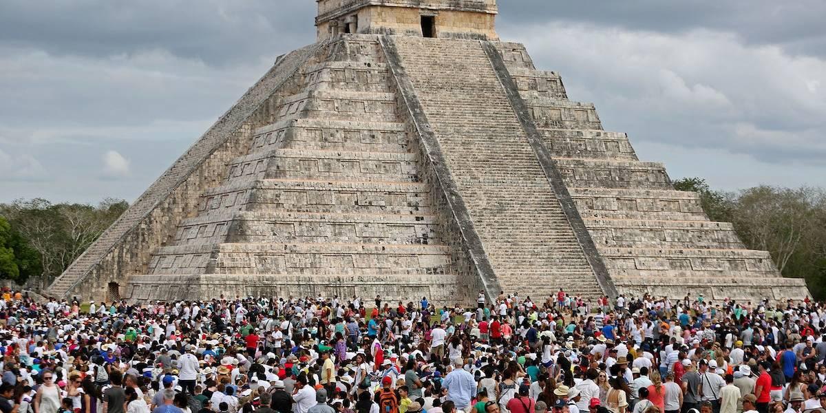 Lluvia ácida podría acabar con el patrimonio maya de México