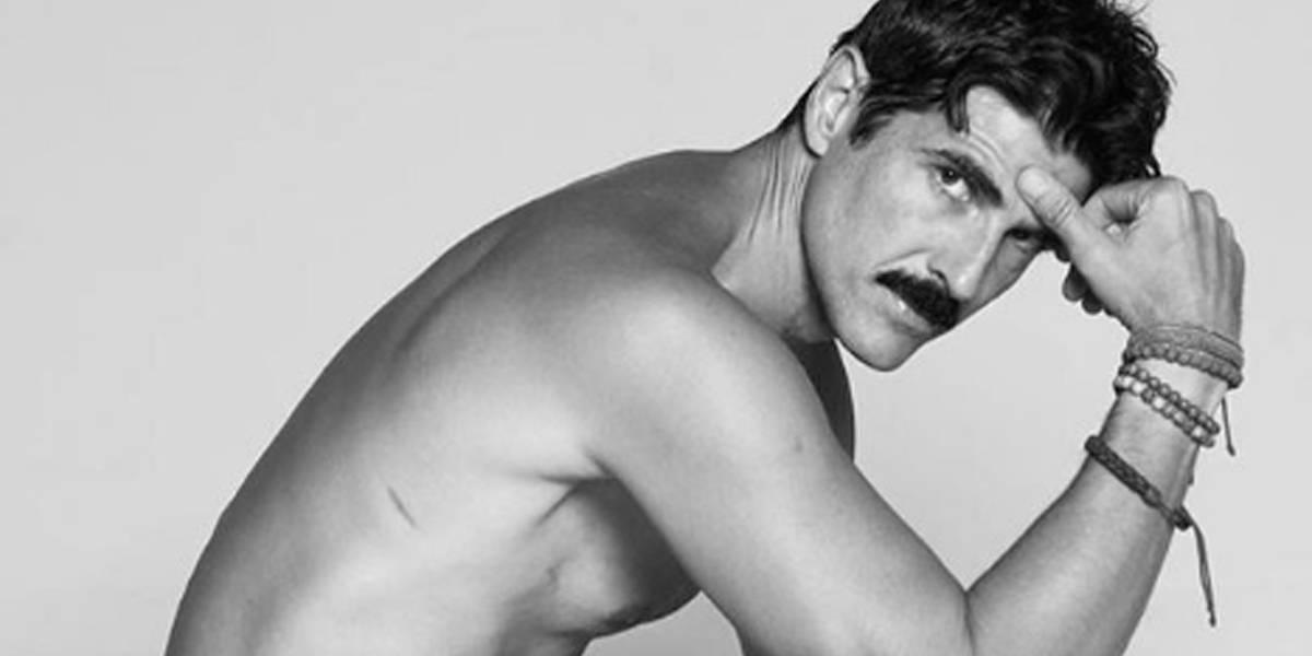 Reynaldo Gianecchini aparece completamente nu em ensaio fotográfico