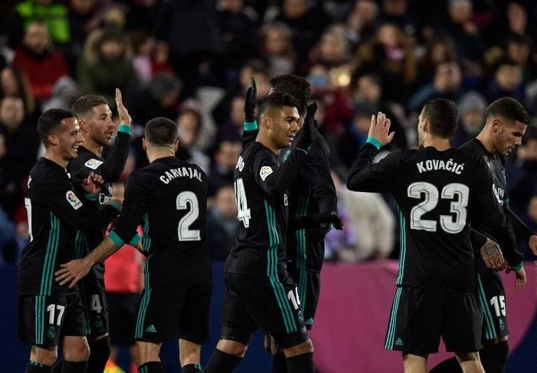 Gol del Real Madrid contra el Leganés