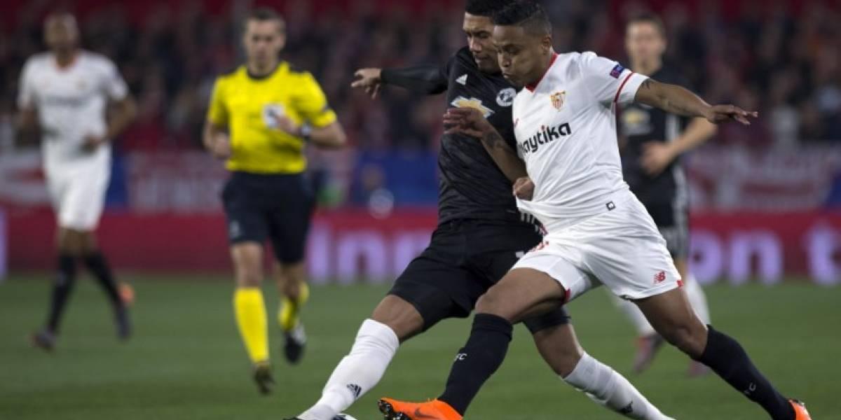 Sevilla y Manchester no pasan del empate y definirán todo en Inglaterra
