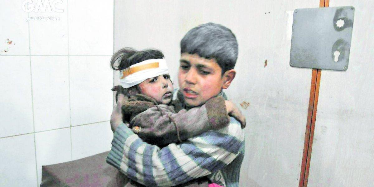 Están matando niños, la barbarie que se vive en Siria