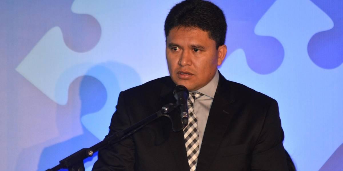 Rommy Vallejo, Secretario Nacional de Inteligencia, renuncia
