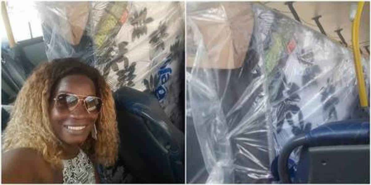 Coisas que só acontecem no Brasil: casal transporta cama box com colchão em ônibus