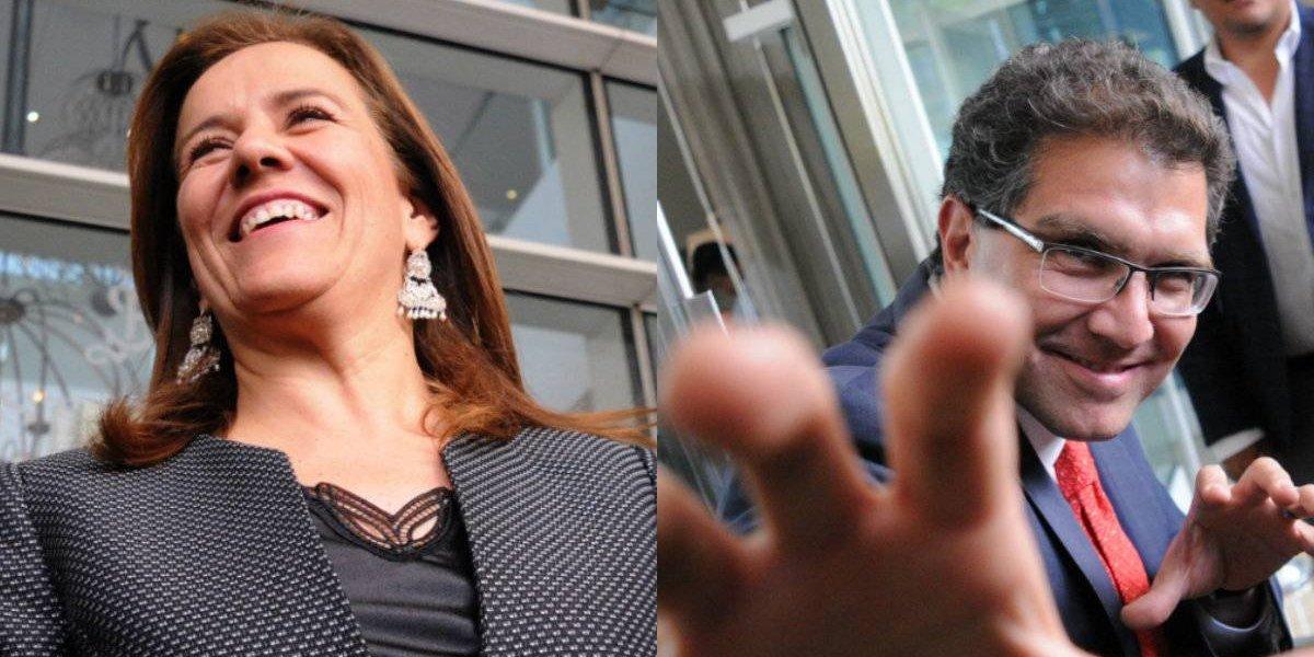 Zavala y Ríos Piter rechazan declinar por candidatura independiente única