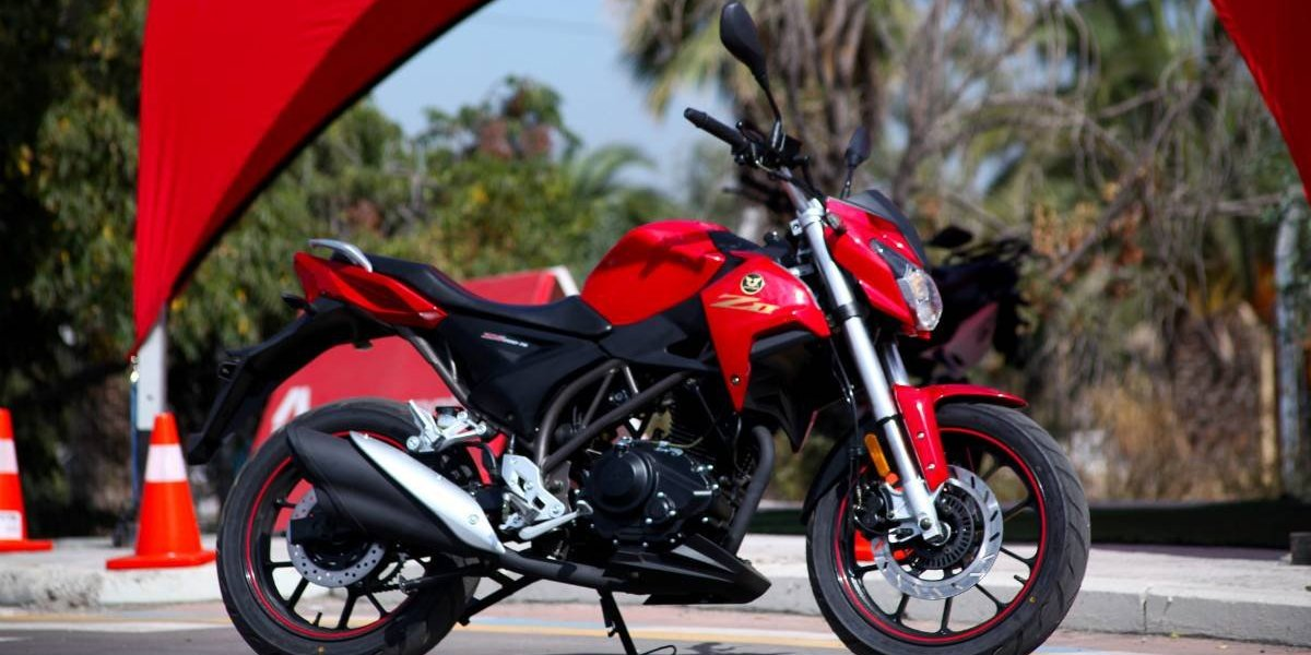 Zongshen presenta su nueva moto, ZII