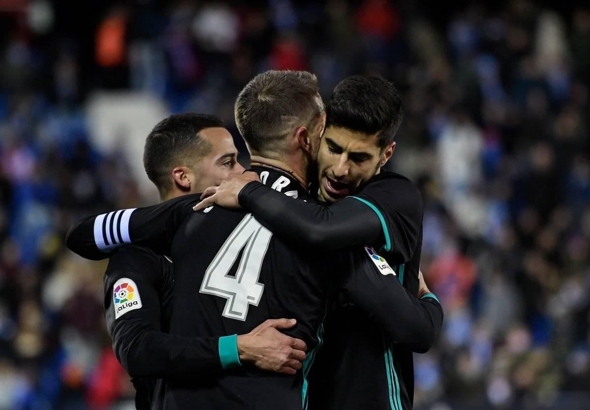 El Madrid viene de vencer al Leganés