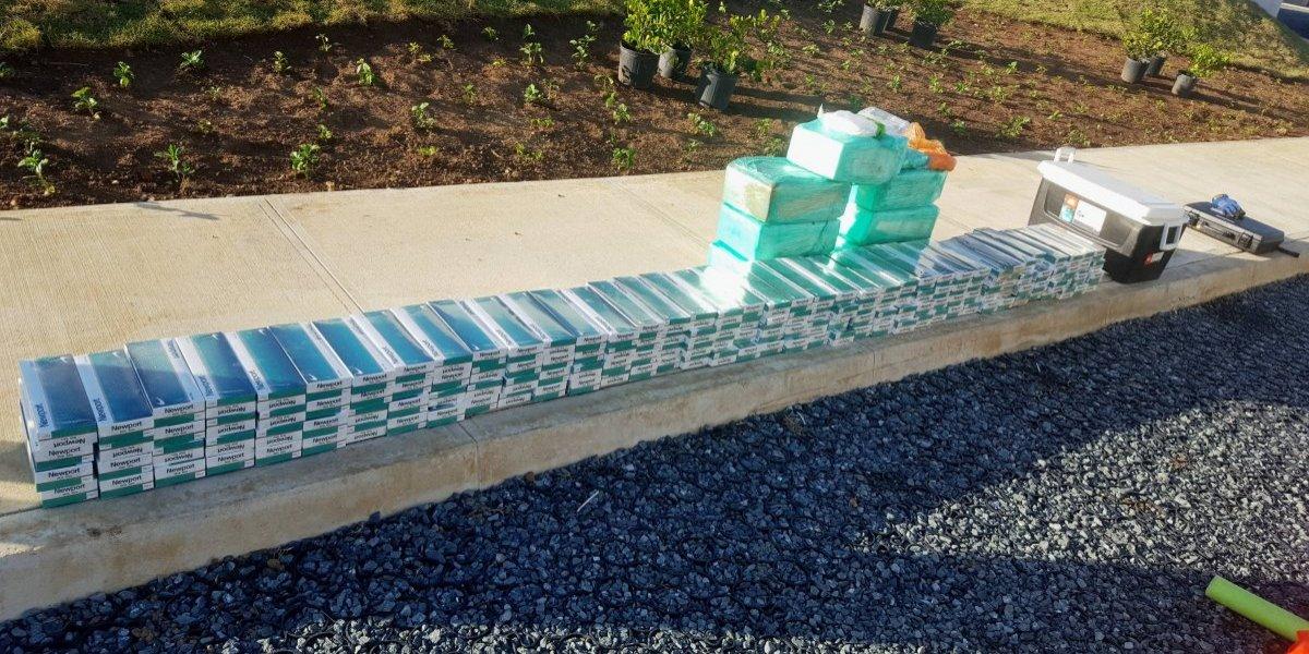Federales incautan 174 libras de cocaína