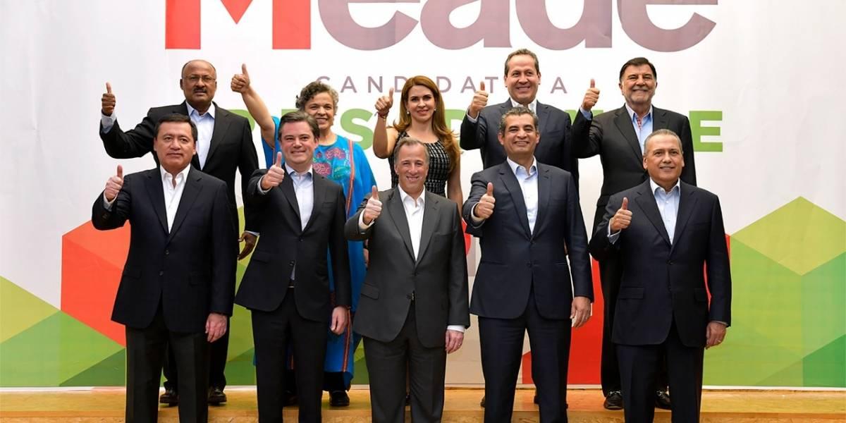 Asegura Meade que su nuevo equipo fortalecerá su campaña